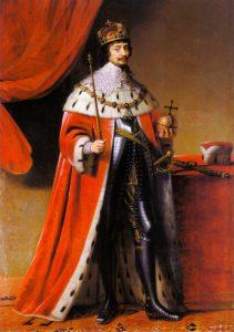 Portret Fridricha V Gerarda van Honthorsta