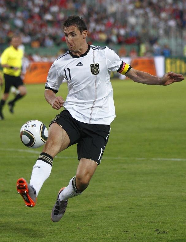 Miroslav Klose, fot. Laszlo Szirtesi