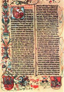 Polskŏ Biblijŏ Krōlowyj Zofije, połowa XIV stoleciŏ