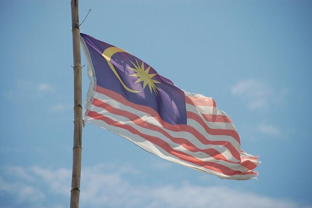 Fana Malezyje. Fot. Dylan Walters / Wikimedia Commons