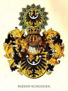 Herb dolnośląski według Hugo Gerarda Ströhla