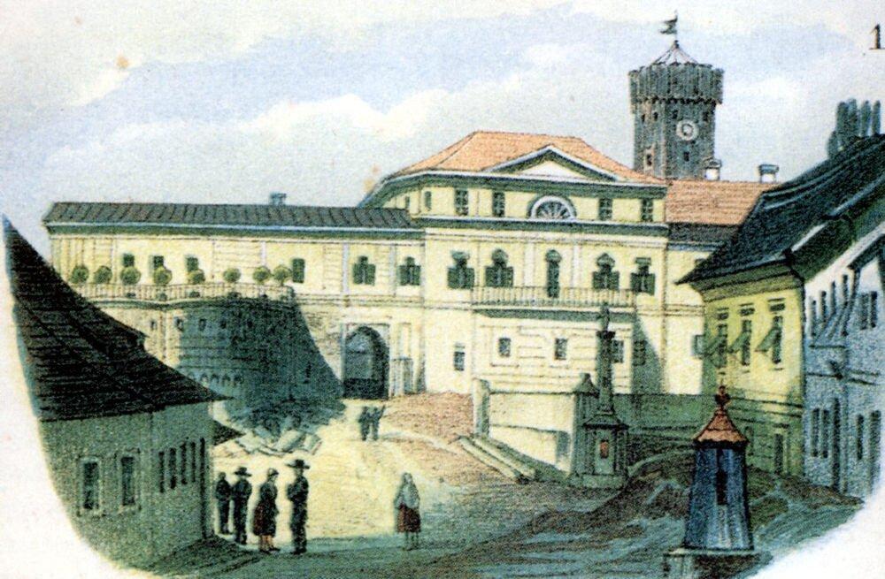 Pałac myśliwski, 1840