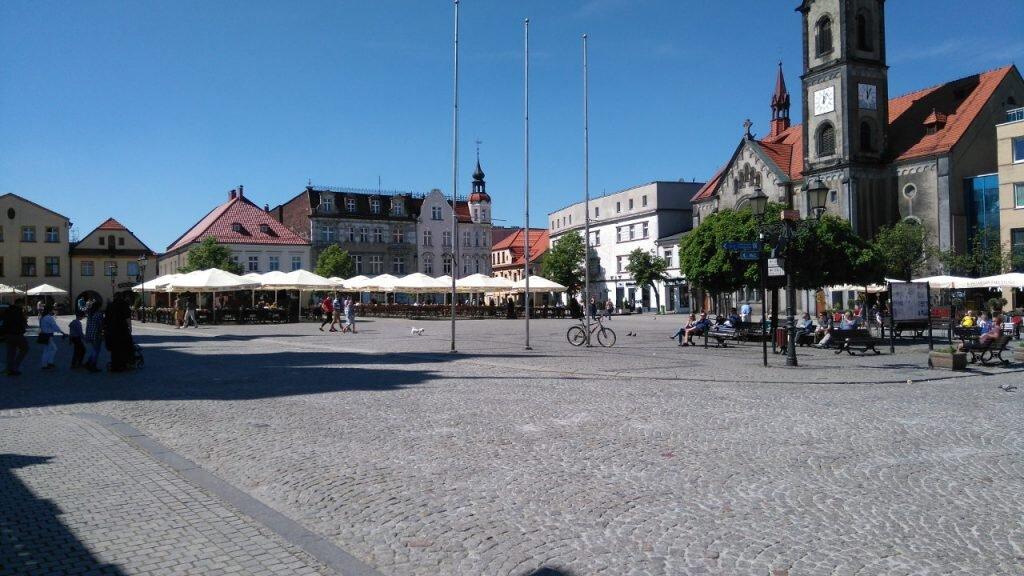 Rynek w Tarnowskich Górach, 6 maja 2018