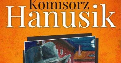 """Przeczytałam książkę: """"Kōmisorz Hanusik"""" Marcin Melon"""
