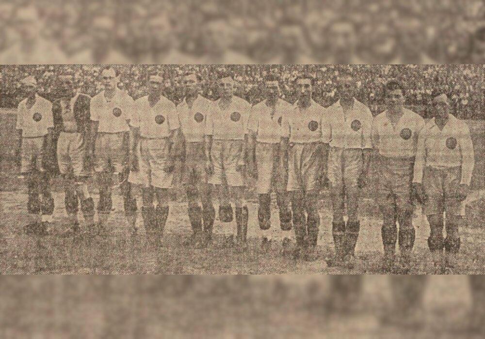 Reprezyntacyjŏ Ślōnska we fuzbalu, 9 czyrwnia 1938