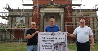 Ratowanie mauzoleum rodziny Schaffgotsch w Kopicach