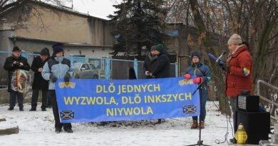 Ôbchody Dnia Tragedyje Gōrnoślōnskij we Mysłowicach [fotorelacyjŏ]