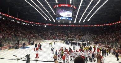 Trziniec majstrym ligi czeskej w hokeju! [fotogaleryjŏ + film]