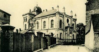 Kto spalił tarnogórską synagogę?