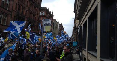 Szkocja maszeruje ku niepodległości
