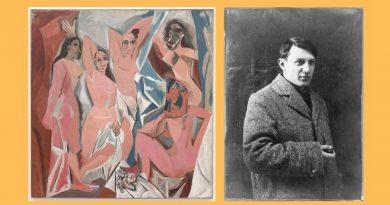 Les Demoiselles d'Avignon  (Panny z Awinionu) – Pablo Picasso
