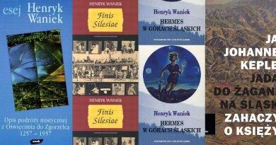 Z Henrykiem Wańkiem po Śląsku podróż magiczna z książkami kilkoma