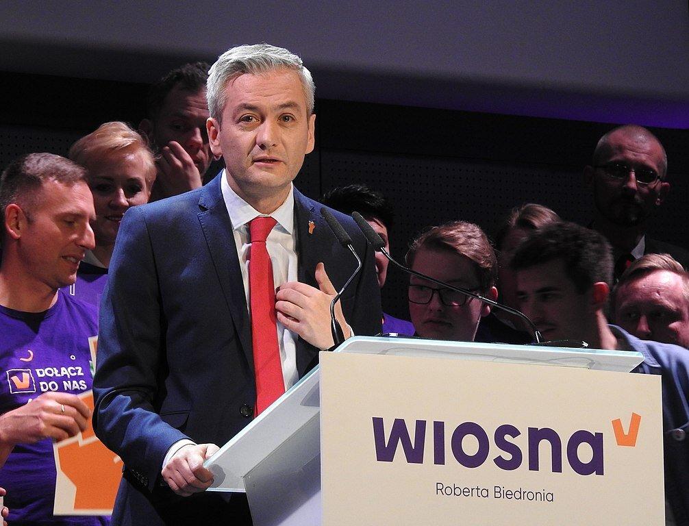 Robert Biedroń. Autor: Jarosław Roland Kruk / Wikipedia, licencja: CC-BY-SA-3.0