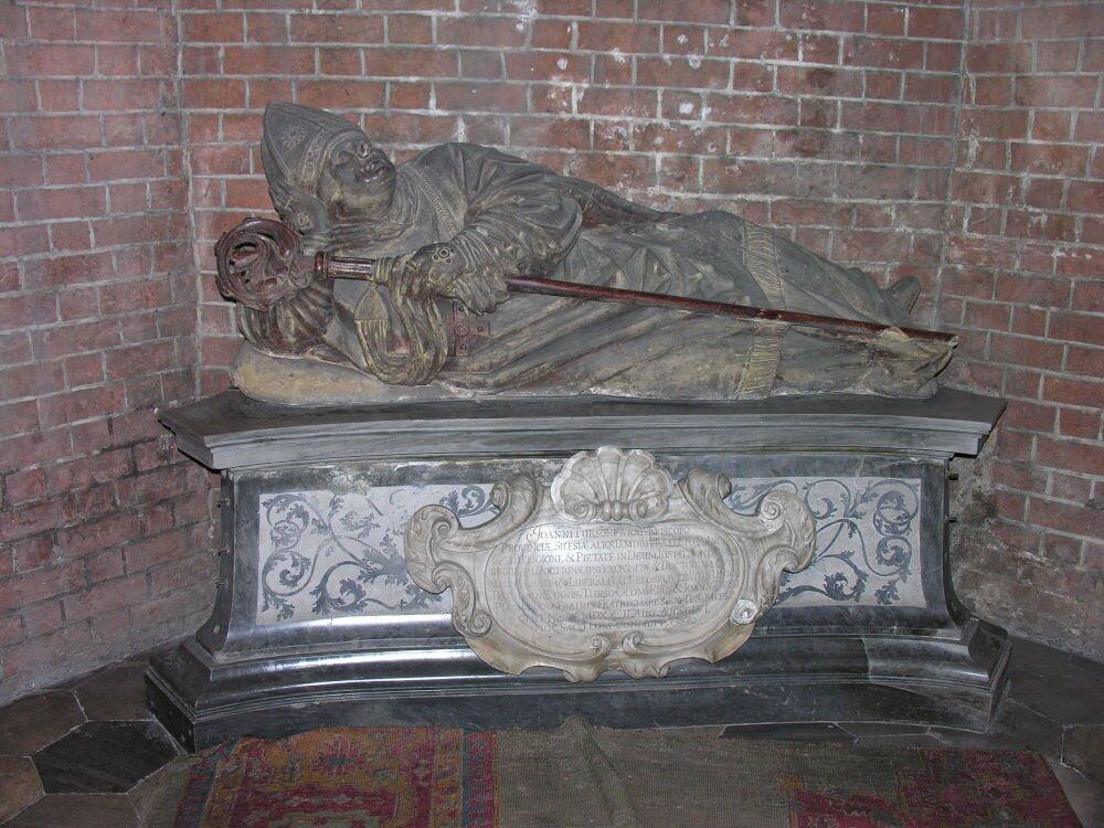 Nagrobek Jana Turzona w katedrze wrocławskiej