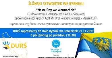XVII Ślōnski Sztwortek ô Ślōnzokach we Wehrmachcie