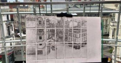 Katowice: Malarstwo w stylu średniowiecznym