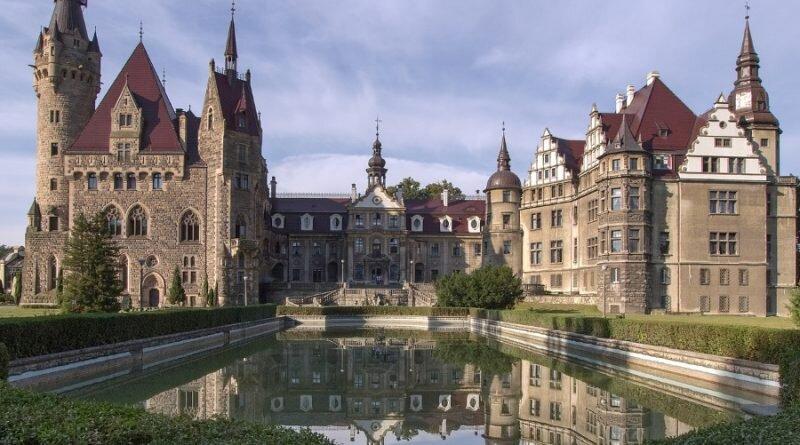 Pałac w Mosznyj, fot. Grzegorz Kulik