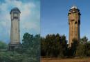 Wasserturmy (jak) malowane