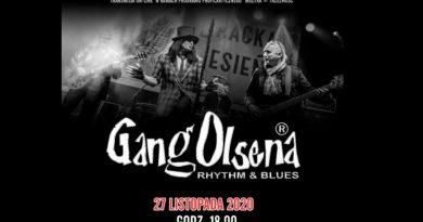 Ruda Śląska: Gang Olsena – koncert on-line