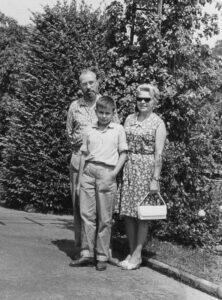 Danuta Siwkówna z rodziną w 1963 r. / ze zbiorów prywatnych