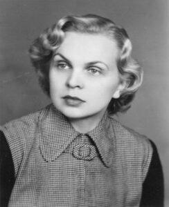 Danuta Siwkówna, 1950 r. / ze zbiorów prywatnych