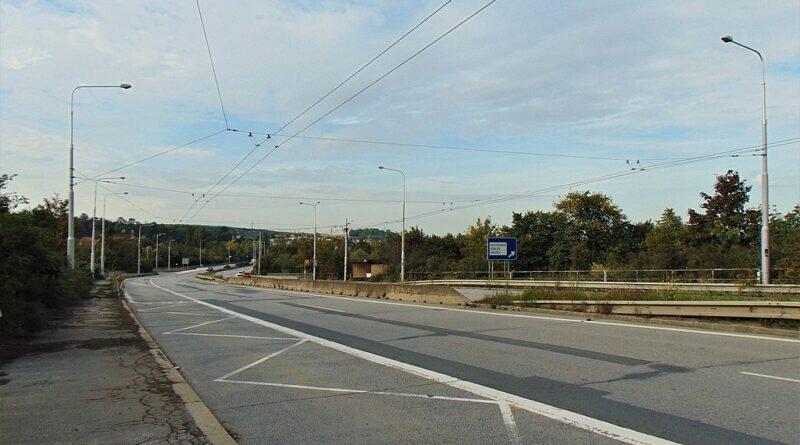 Ulica Bohumínská we Hruszowie (2019)