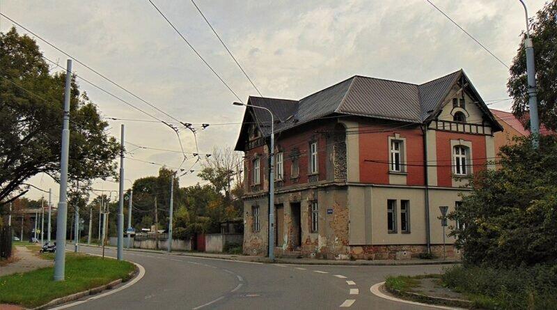 Ulica Stará cesta we Hruszowie (2019)