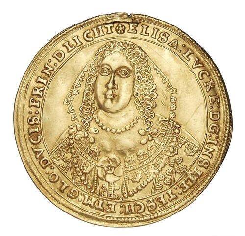Złoty dukat Elżebiety Lukrecji ze Staatliche Museen zu Berlin