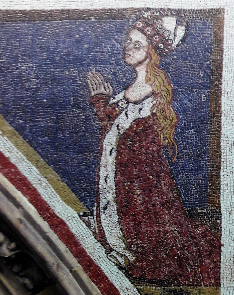 Elżbieta Pomorska z katedry św. Wita w Pradze