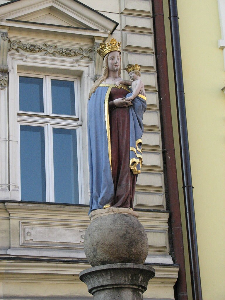 Madonna cieszyńska ze Starego Targu