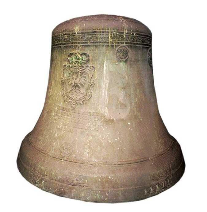 Dzwon ufundowanych przez Elżbietę Lukrecję w 1641 roku (źródło: cieszyn.pl)