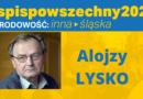 Alojzy Lysko: Tożsamość jest siłą duchową regionu