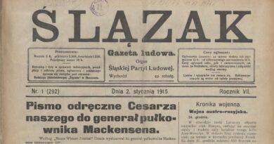 Przemiany ideologiczne, polityczne, narodowościowe na Górnym Śląsku 1871-1922 (cz. 5)
