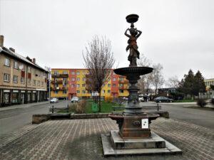 Fōntanna na rynku we Ôsobłodze