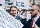 Regionaliści poparli także Kohuta! Lider Wiosny rozdaje ulotki po śląsku [ZDJĘCIA]