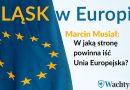 Śląsk w Europie – Wachtyrz przepytuje kandydatów przez wyborami - w jaką stronę powinna zmierzać UE? [CZĘŚĆ 3]